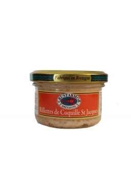 Rillettes de Coquille St Jacques