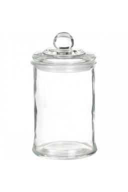 Bonbonnière en verre moyenne