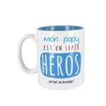 """Mug """"Mon Papy est"""""""