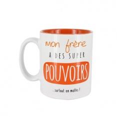 """Mug """"Mon Frère est"""""""