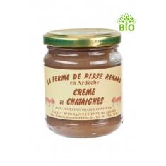 Crème de châtaignes bio aux écorces d'orange