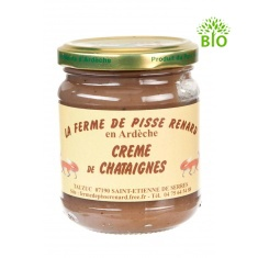 Crème de châtaignes bio d'Ardèche