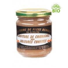 Crème de châtaignes bio aux brisures confites