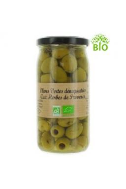 Olives vertes herbes de Provence, 340g