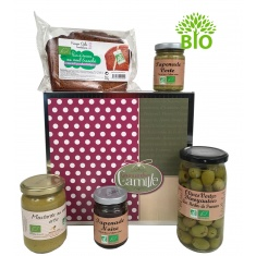 "Coffret gourmand ""Bio time"""