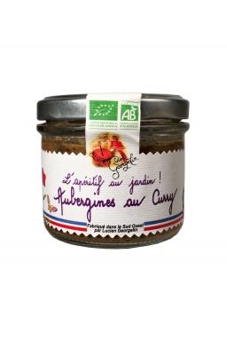 Délice Aubergine au curry Bio 100g