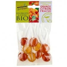 Sucettes aromatisées Bio 100g