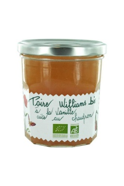 Poire Williams à la vanille Bio 320g