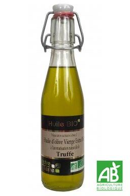 Huile d'olive vierge à la Truffe Bio