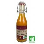 Vinaigre de cidre à la pulpe de mangue bio, 25cl