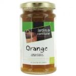 Confiture Orange et sucre de canne Bio 260g