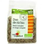 Riz demi complet et Riz rouge Camargue Bio 500g