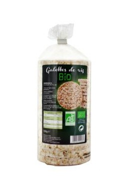 Galettes de riz complet 100g Bio