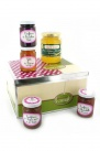 Panier gourmand miel et confiture