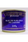 Bloc de foie gras de canard du Sud Ouest 200g CDM