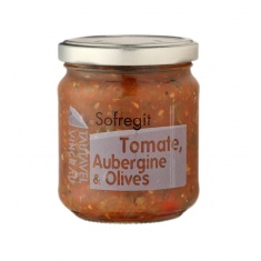 Sofregit : Tomate, Aubergine & Olives 180g