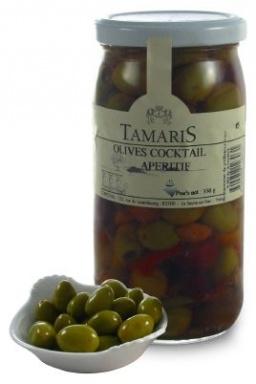 Olives cocktail apéritif 350g