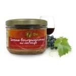 Terrine Bourguignonne au vin rouge 180g Bio