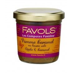 Compote Pomme Caramel au beurre salé 125g