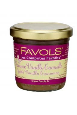 Compote Pomme Vanille Cannelle 125g