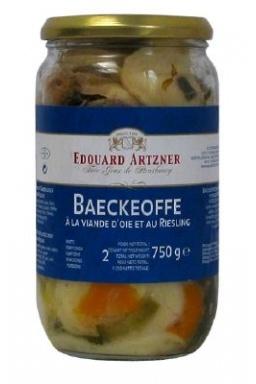 Le Baeckeoffe à la viande d'Oie et au Riesling 750g